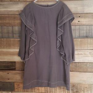 Zara Girls Dress Gray color size 8